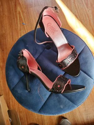 Carlos santana pink and black heels new size 8 for Sale in West Covina, CA