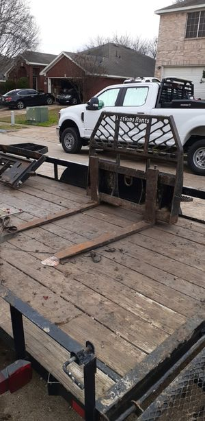 Skid steer pallet forks for Sale in Grand Prairie, TX