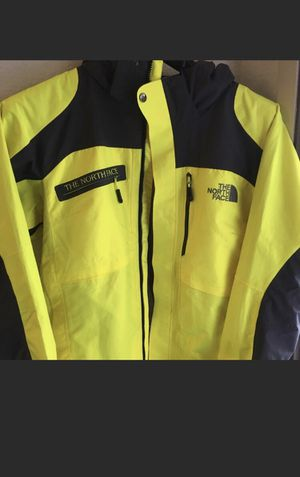 NORT FACE high viz rain jacket for Sale in Oakley, CA