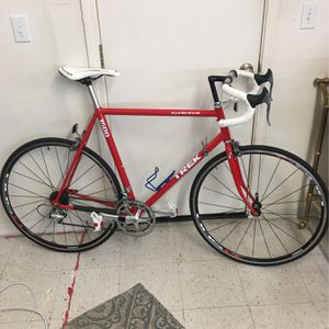 Trek Road bike, Red And White, 23.5 Inch Frame for Sale in Nipomo, CA