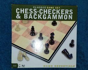 Game Essentials Chess, Checkers, & Backgammon for Sale in Philadelphia, PA