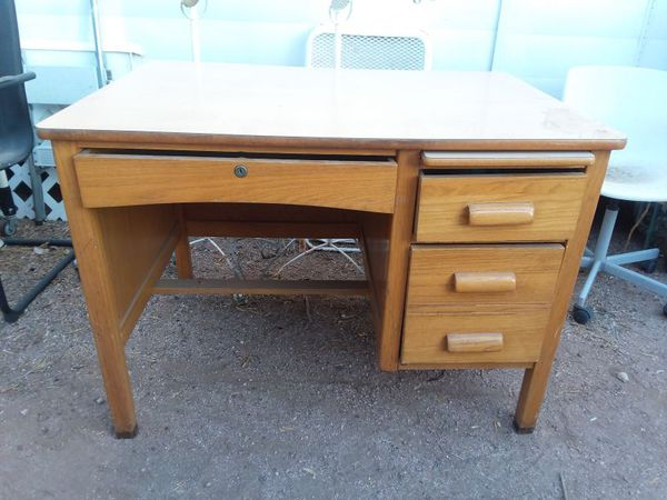 Vintage Teachers Desk