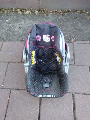 Hello kitty infant car seat $50 obo for Sale in Colorado Springs, CO