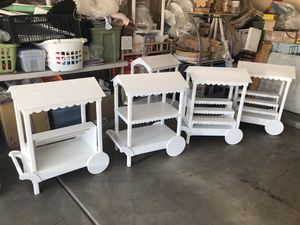Wood carts for Sale in Tolleson, AZ