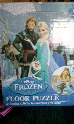 Frozen floor puzzle - 46 pieces for Sale in Winchester, VA