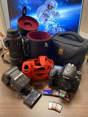 Nikon D800 BUNDLE +EXTRAS for Sale in Miami, FL