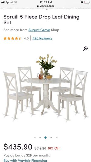 Round Dining Room Table & Chairs for Sale in Sanford, NC