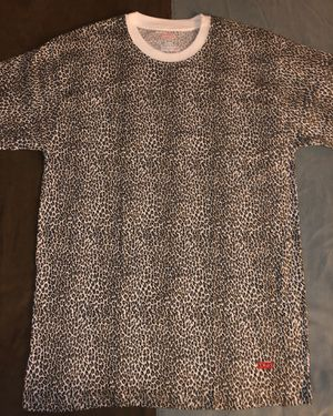 Medium Leopard Print Supreme T-Shirt for Sale in St. Louis, MO