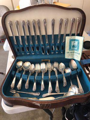 Wm. Rogers & Son silver set for Sale in Escondido, CA