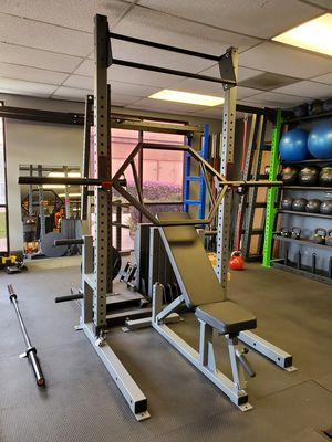 🔺️☆🔷️TRAP BAR☆RACKABLE HEX BAR☆OLYMPIC BARS🔷️☆🔺️ for Sale in Brea, CA