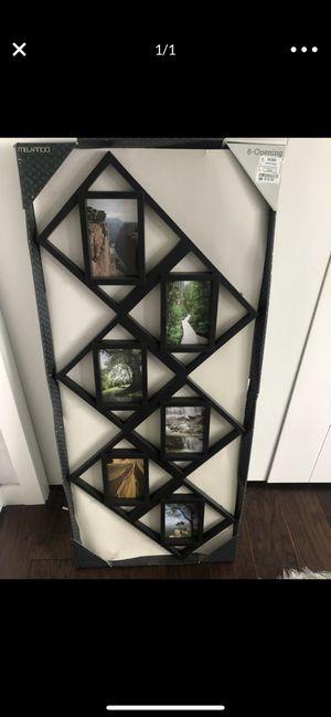 6 PICTURE FRAME WALL DECOR BRAND NEW for Sale in Covington, WA
