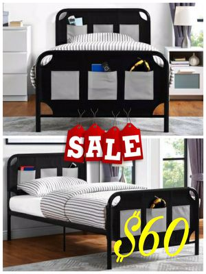 New Twin Platform Bed NO MATTRESS $60 for Sale in Dallas, TX