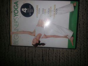 BEGINNERS YOGA..DVDs for Sale in Glen Burnie, MD