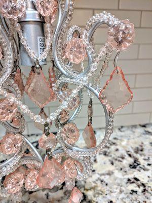 CHANDELIER Pink Sapphire for Sale in Sanford, FL