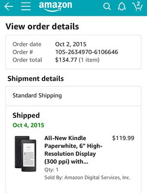 Kindle in excellent conditions for Sale in Orlando, FL