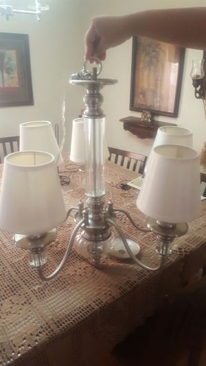 Candelero . chandelier lights for Sale in Frostproof, FL