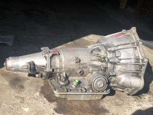 4L60E TRANSMISSION 2x4 or 4x4 AVAILABLE —1999-2007 Silverado 2002-2007 Trailblazer 2002-2006 TAHOE *FITS OTHER MODELS SEE AD FOR LIST BELOW for Sale in Fresno, CA