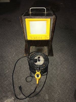 Underwater Fishing Camera W/Monitor and Custom Wood Housing Unit for Sale in Harbison Canyon, CA