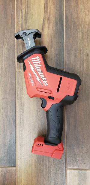 Milwaukee M18 fuel hackzall (tool only) for Sale in San Diego, CA