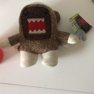 Domo Plushie Tag Still Attached for Sale in Perris, CA