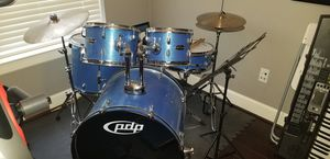 PDP by DW CENTERstage 5-Piece Drum Set with Hardware and Cymbals for Sale in Humble, TX