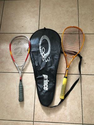 Tennis rackets with carrying casa for Sale in Lake Worth, FL