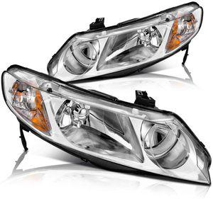 New Headlights for Honda Civic Sedan for Sale in Cheyenne, WY