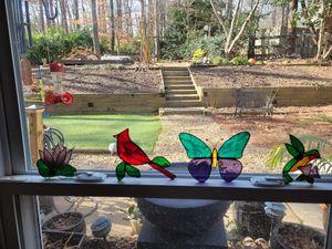 Stained glass sun catchers for Sale in Marietta, GA
