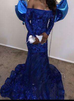 Royal blue Prom dress for Sale in WARRENSVL HTS, OH