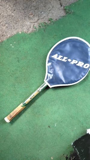 Spalding impact 222 wooden tennis racket for Sale in Columbus, OH