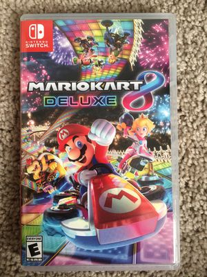 Nintendo switch Mariokart deluxe 8 for Sale in Laveen Village, AZ