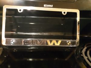 BMW license plate holder for Sale in Tampa, FL