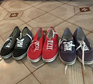 Practically new. VANS Size 7:30. $15. EACH for Sale in Miami, FL