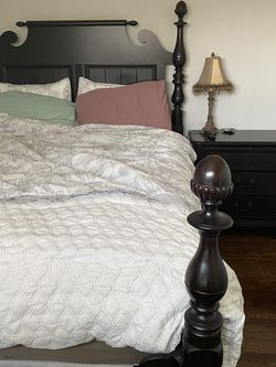 Bed Frame And Nightstand for Sale in Azusa,  CA
