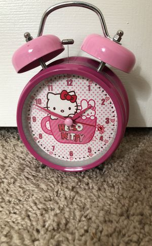 Hello Kitty Alarm Clock for Sale in Brentwood, TN