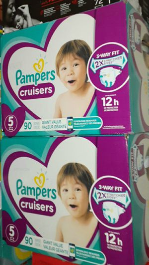 Size 5 pampers cruisers for Sale in Los Angeles, CA