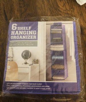 6 shelf hanging organizer for Sale in Chino, CA