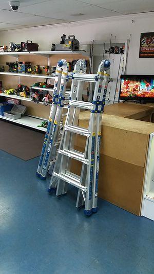 Werner MT-22 1AA Multi Purpose Position Pro 22ft Ladder for Sale in Fort Lauderdale, FL