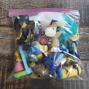 Collectible Toy Lot: You Pick (McDonalds Happy Meal, Little People, Shopkins, Animal Figurines, Random etc.) $5 Each Bag $10 All Bags for Sale in Las Vegas, NV