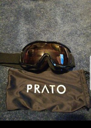 PRATO SNOWMOBILE GOGGLES for Sale in Genoa, NY