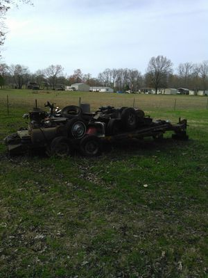 Price reduced by $500 Heavy duty equipment trailer for Sale in Dickson, TN
