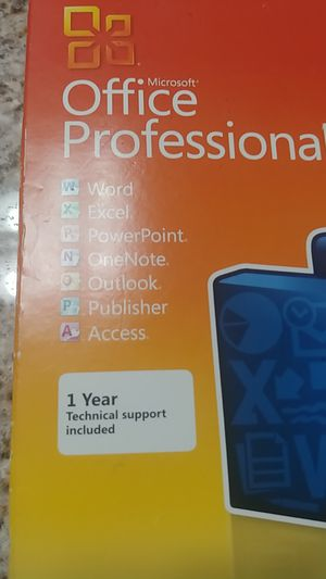 Microsoft office professional 2010 for Sale in Fair Oaks, CA