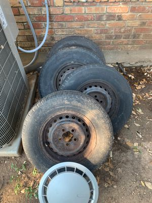 Tires and Volkswagen hub caps for Sale in Austin, TX