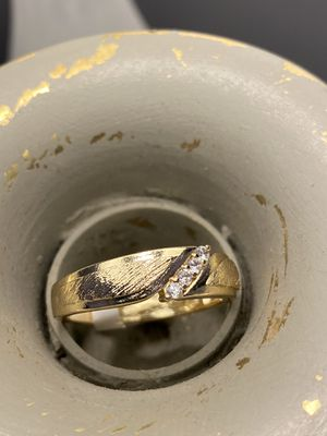 14k Gold Plated Unisex Wedding Band Ring for Sale in Nashville, TN
