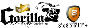 Gorilla Grow Tent lite line 8' x 8' for Sale in Gilbert, AZ