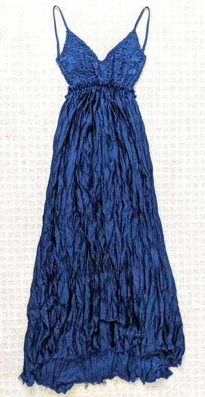 Brand new blue open back (prom) dress for Sale in Westminster, CA