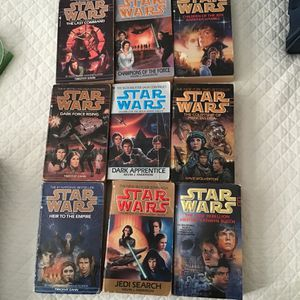 Star Wars Books 9 for Sale in Moseley, VA