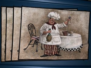 Le Chef placemats /4 for Sale in Sugar Hill, GA
