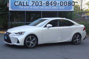 2017 Lexus IS for Sale in Fairfax, VA