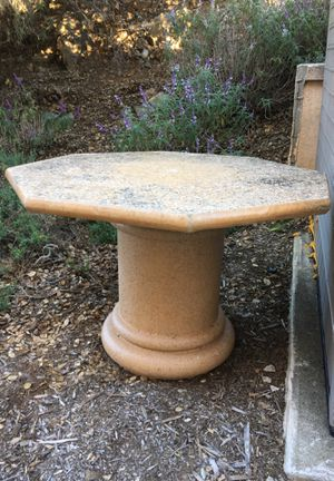 Concrete picnic table & 3 benches FREE for Sale in San Diego, CA